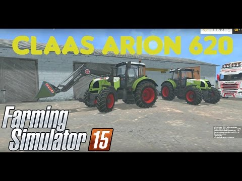 Claas Arion 620 Full v1.0