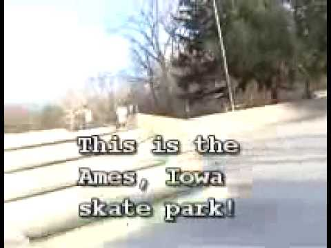 Ames, Iowa Skate Park 3-16-09