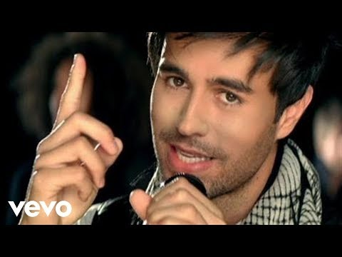 0 Enrique Iglesias, video de Cuando me Enamoro