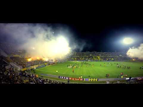 """""""Recibimiento"""" - Rosario Central (Los Guerreros) vs River - 2016 - Los Guerreros - Rosario Central"""