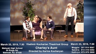 The Theatrical Production of Charley's Aunt Back on Stage Again Soon