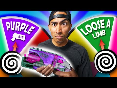 NERF Hangman Roulette  Dual Duel Challenge!