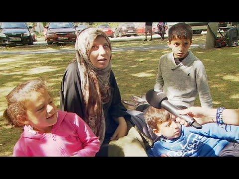 Berlin mültecilerini ağırlıyor