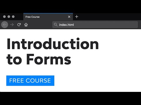 Introduction to Forms