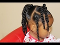 TODDLER: Natural Hair (TWO STRAND TWIST)