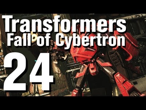 Transformers Fall of Cybertron Walkthrough Part 24 - Chapter 9 (видео)