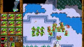 Warcraft 2: Tides of Darkness - Orc Campaign Gameplay - Missio...