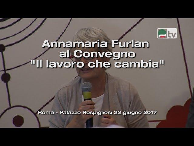 Annamaria Furlan al Convegno