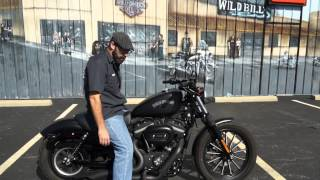9. 2013 Harley-Davidson Sportster Iron 883 XL883N!