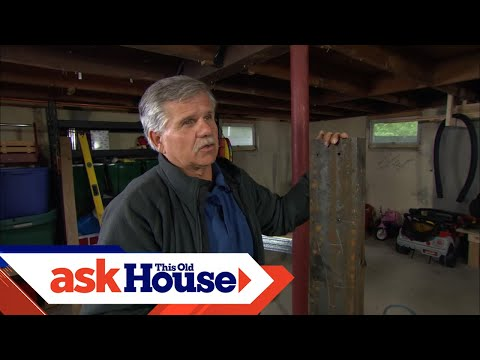 How to Repair a Damaged Carrying Beam   Ask This Old House