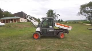 9. 2002 Bobcat Toolcat 5600 utility work machine for sale | no-reserve Internet auction August 3, 2017