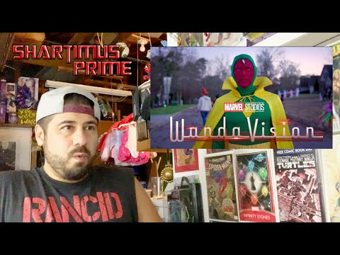 Marvel's WandaVision Official Trailer Disney+ TV Series Reaction Video by ShartimusPrime