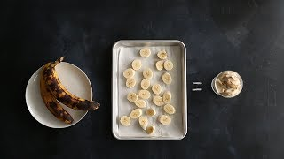 """In this episode of Kitchen Conundrums, Thomas Joseph shares his tips for storing overripe bananas and a flavorful way to use them in a quick recipe for vegan banana ice cream.Get the recipe: http://www.marthastewart.com/1050610/vegan-ice-creamSubscribe for more easy and delicious recipes: http://full.sc/P8YgBt---------------------------------------------------------------Want more? Sign up to get the Everyday Food video recipe email, served daily.Get recipe emails: http://www.marthastewart.com/edfWant more Martha? Twitter: http://twitter.com/marthastewartFacebook: https://www.facebook.com/MarthaStewartPinterest: https://www.pinterest.com/marthastewart/Instagram: https://www.instagram.com/marthastewart/Google Plus: https://plus.google.com/+MarthaStewart/posts Sarah Carey is the editor of Everyday Food magazine and her job is to come up with the best ways to make fast, delicious food at home. But she's also a mom to two hungry kids, so the question """"What's for dinner?"""" is never far from her mind -- or theirs, it seems! Her days can get crazy busy (whose don't?), so these videos are all about her favorite fast, fresh meals -- and the tricks she uses to make it all SO much easier.http://www.youtube.com/user/everydayfoodvideos"""