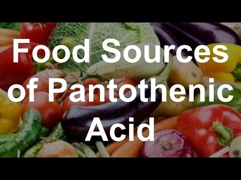 Food Sources of Pantothenic Acid (Vitamin B5) – Foods With Pantothenic Acid