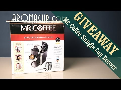 Mr. Coffee K-Cup Coffee Maker Giveaway (ENDS: 4/14/14)