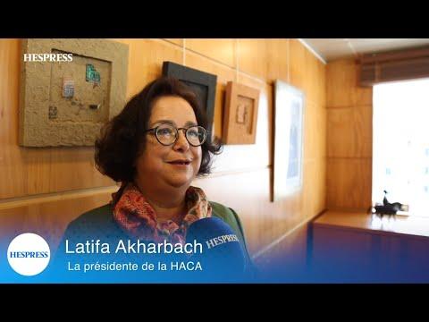 Latifa Akharbach interview hespress HACA conférence de presse