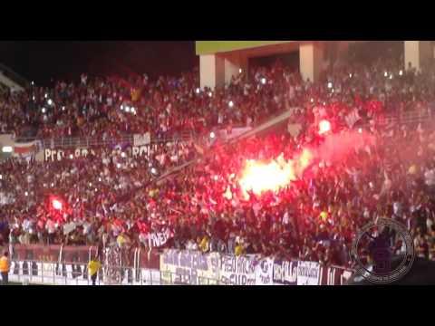 Saprissa - Boca Juniors/ Bengalas + Vamos morados...Ultra Morada - Ultra Morada - Saprissa