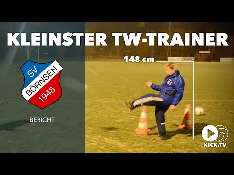 Größe spielt keine Rolle: Deutschlands kleinster Torwarttrainer misst 1,48 Meter