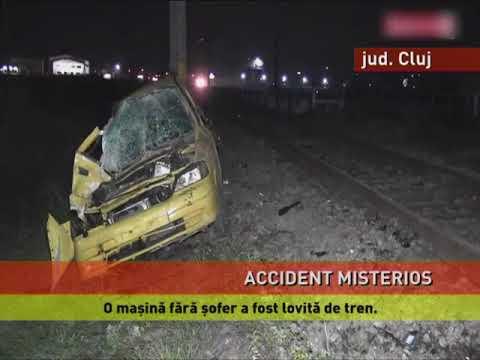 Accident învăluit în mister, în județul Cluj