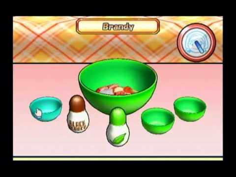 Cooking Mama: Cook Off -  Beef In Wine Sauce (Gold Rank)