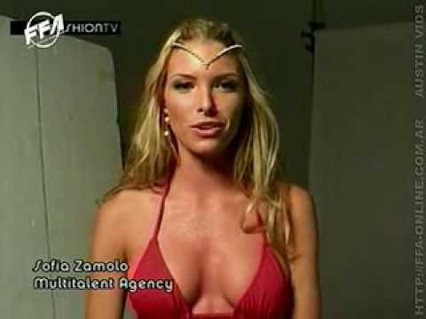 Sofia Zamolo de mujer maravilla