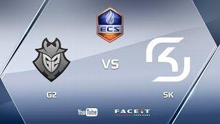 G2 vs SK, cache, ECS S3 Finals
