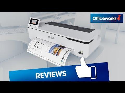 Epson SureColor Inkjet Printer Overview