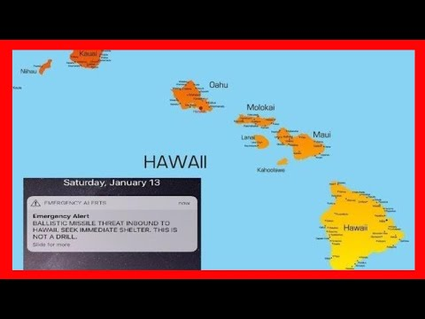 Hawaii Ballistic Missile Attack is False - Fake News