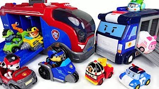 Video We need a moveing base! Paw Patrol Mission Cruiser and Robocar Poli Mobile Headquarter! - DuDuPopTOY MP3, 3GP, MP4, WEBM, AVI, FLV Desember 2017