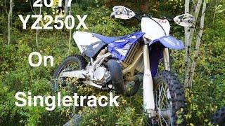 2. 2017 Yamaha YZ250X First Mountain Ride - Episode 168