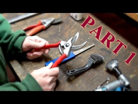 How to Maintain Felco Pruning Shears Part 1: Disassembly & Cleaning