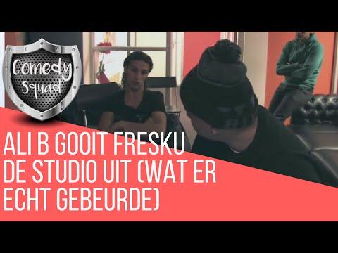 | PezPaq Tv: ALI B SCHOPT FRESKU UIT DE STUDIO (Wat er echt gebeurde)