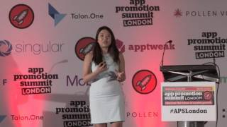 More at http://apppromotionsummit.comAngela Tang, Marketing Director at Syft App spoke at App Promotion Summit London on the topic of '5 Lessons Learned Growing Consumer Apps'