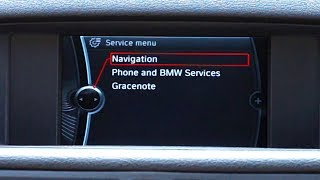 How to enter hidden service menu in BMW iDrive CIC navigation system. This diagnostic mode gives access to interesting information like map database version, voice guidance test, wheel sensor signal, map coordinates. Those information can be useful when troubleshooting issues with navigation in your BMW car.http://mr-fix.info/Facebook: https://www.facebook.com/mrfixpl/Instagram: https://www.instagram.com/mrfixpl/Pinterest: https://pinterest.com/mrfixpl/Instructables: http://www.instructables.com/member/mr-fix/