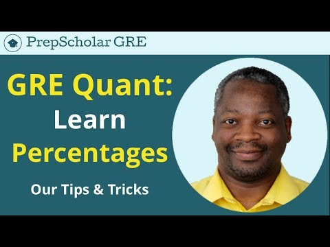 GRE Tips And Tricks | Percentages