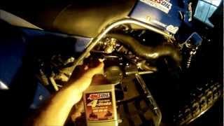 5. Yamaha Banshee Oil Change