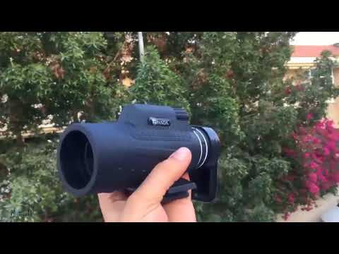 Monocular hd prism scope w tripod usagrandbazaar video