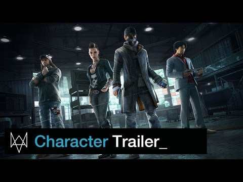 character - Check out the all-new Trailer to get an inside look at the characters of Watch Dogs. Meet Aiden's friends, his enemies and some that blur the line. In a city...