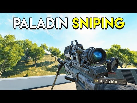 PALADIN SNIPING - CoD BO4: Blackout (видео)