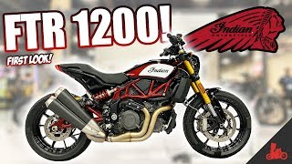 2. 2019 Indian FTR 1200 - FIRST Look!