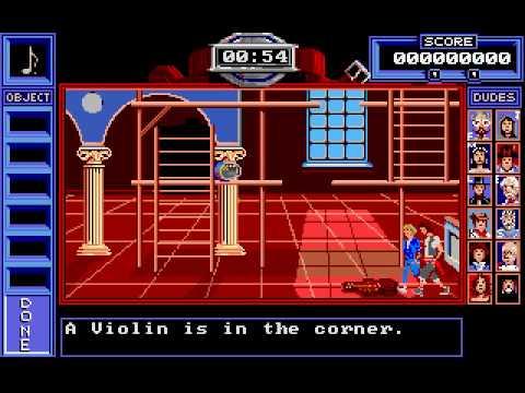 Bill & Ted's Excellent Adventure Amiga