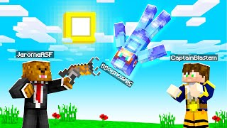 LAUNCHING MY Friends With GRAVITY Cannons in Crazy Craft | JeromeASF