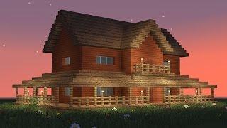 Video MINECRAFT: How to build big wooden house #5 MP3, 3GP, MP4, WEBM, AVI, FLV Maret 2018