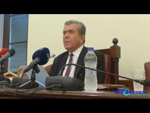 Αποσπάσματα από τη συνέντευξη Τύπου του Αλ. Μητρόπουλου