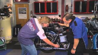 6. Motorcycle Wheel Alignment Demonstration