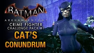 Batman: Arkham Knight - Crime Fighter Challenge Pack #1 - Catwoman: Cat's Conundrum