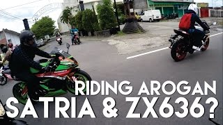 Video SATRIA FU 150 NGIMBANGIN ZX636??!! #RidingArogan #JanganBaper MP3, 3GP, MP4, WEBM, AVI, FLV Juni 2019