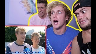 Video LOGAN PAUL REACTS TO THE JAKE PAUL HATE! MP3, 3GP, MP4, WEBM, AVI, FLV Februari 2019
