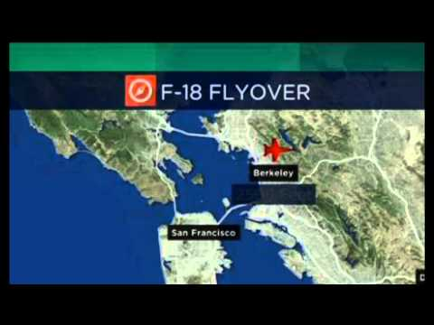 Jet - http://www.undergroundworldnews.com An F/A-18 Super Hornet Navy fighter jet buzzed Berkeley Tuesday, and created quite the buzz on Twitter as its fast and loud flyover got plenty of attention....