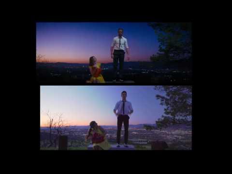 """La La Land and Carson Dean """"A Lovely Night"""" Dance Scene- Side By Side"""
